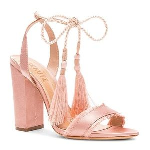 SCHUTZ Primm Lace-up Sandals